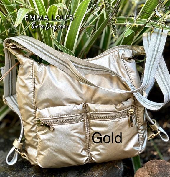 Nylon Hobo Convertible Bag