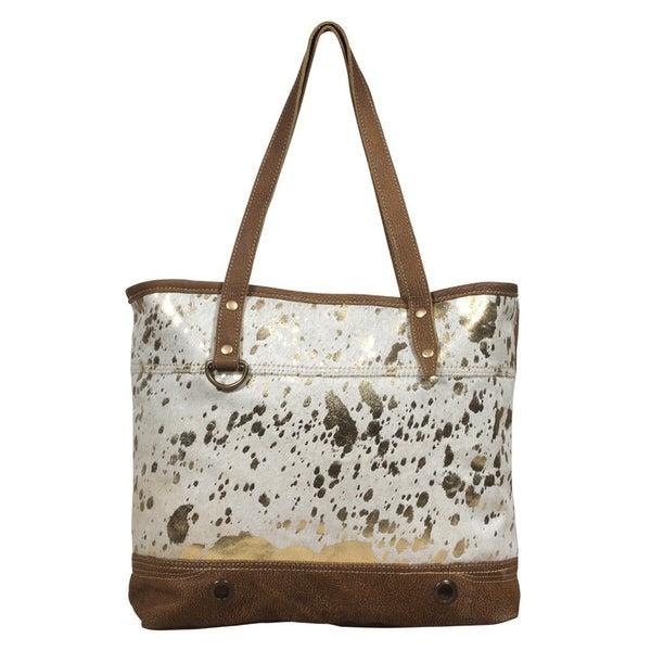 Myra Large Leather Bag