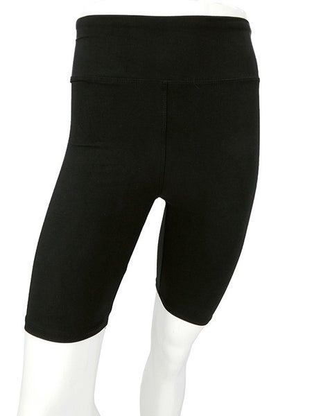 "3"" Waist Peachskin Biker Shorts"