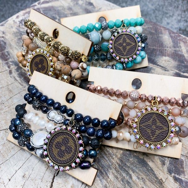 UpCycled Beaded Bracelet Sets