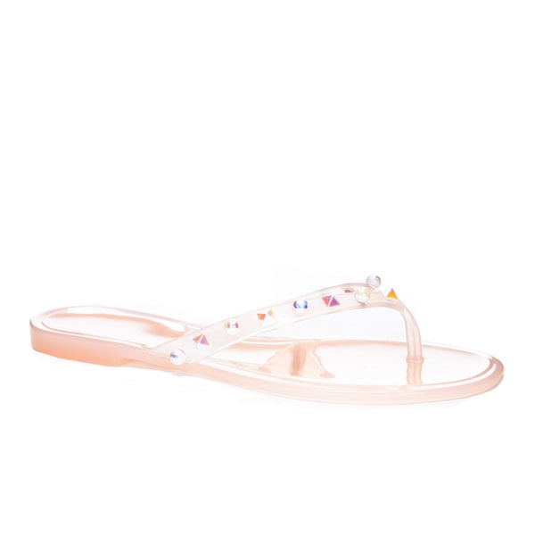 Chinese Laundry Hearts Jellly Sandals