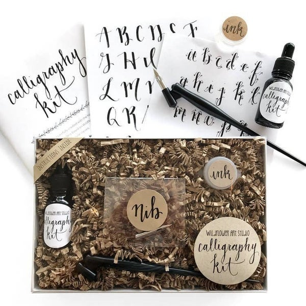 Workshop-in-a-Box  Caligraphy Kit