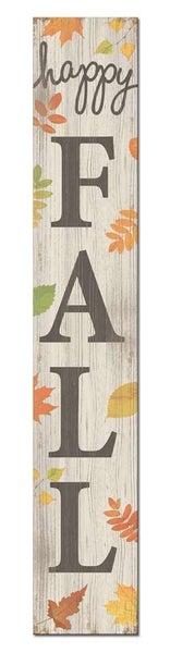 Decorative Porch Board Fall Signs  8 x 46.5