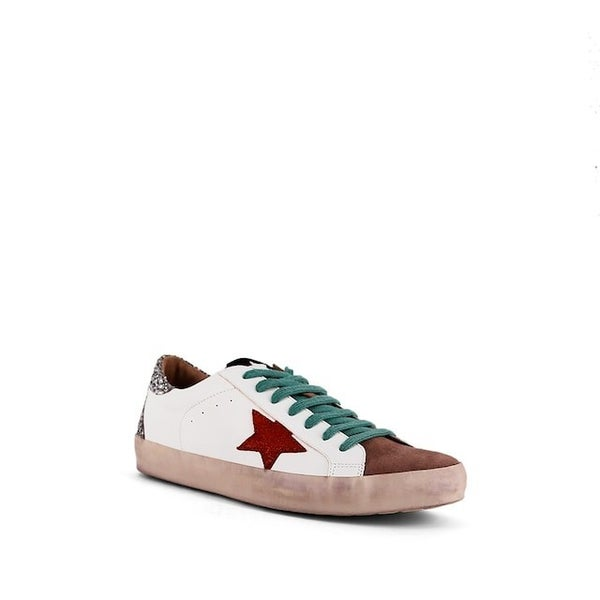 "Shu Shop Designer Inspired Star ""Paula"" Tennis Shoes"
