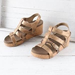 Corkys Lottie Wedge Sandals