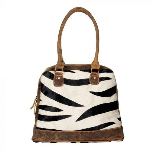 Myra Zebra Style Hide Bag
