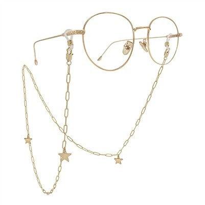 Gold Chain Eye Glass/Mask Holder