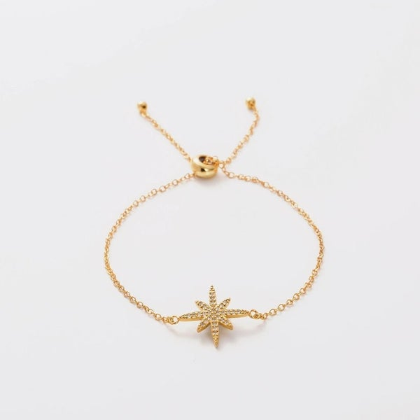 "Melania Clara Luna Collection ""Astra"" Bracelet and Necklace"