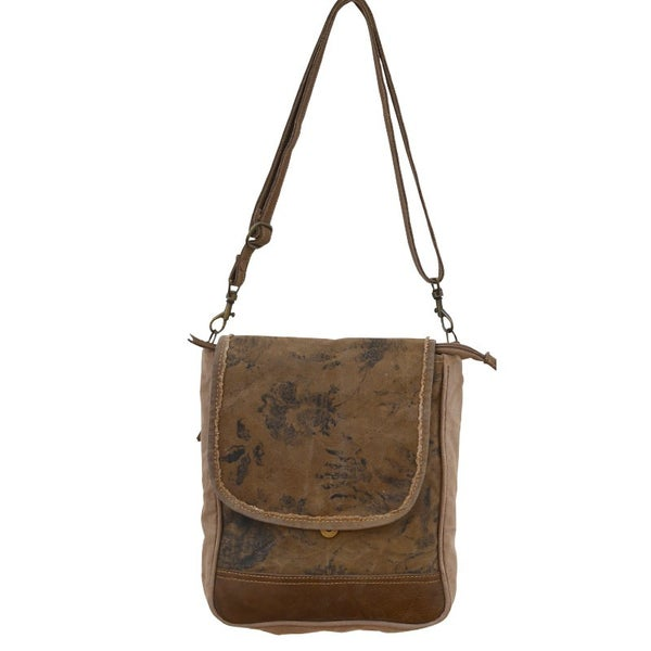 Floral Strap Small Messenger Bag