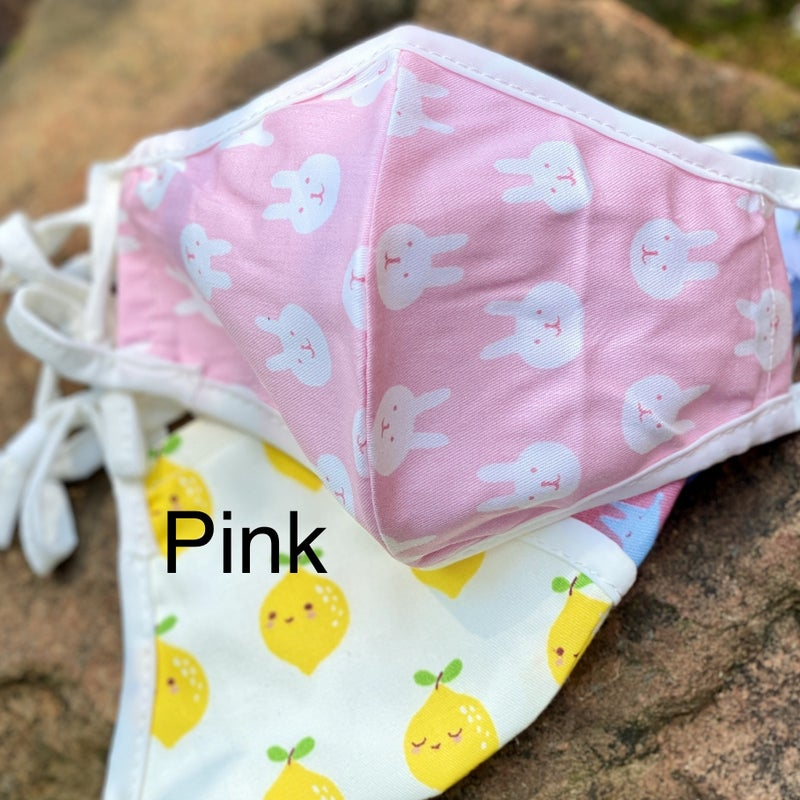 Child Breathable Mouth Covers with insert pockets