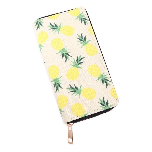 Hawaiian Zipper Wallet