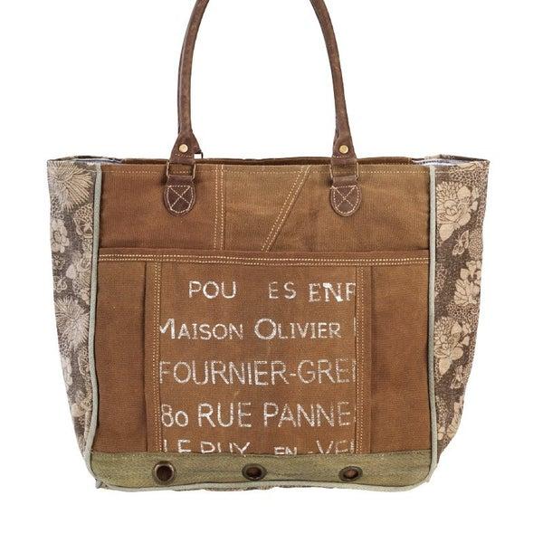 Oliver Floral Tote Bag