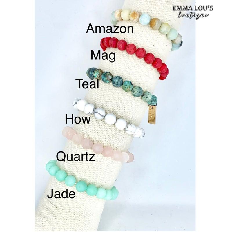 Cecelia Design Gemstone Bracelet