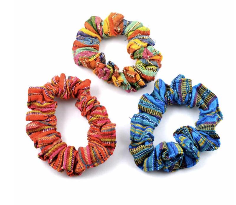 3 Pack Assorted Guatemalan hair tie