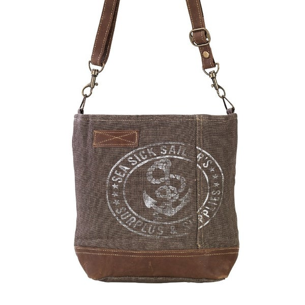 Sea Sick Sailor Shoulder Bag