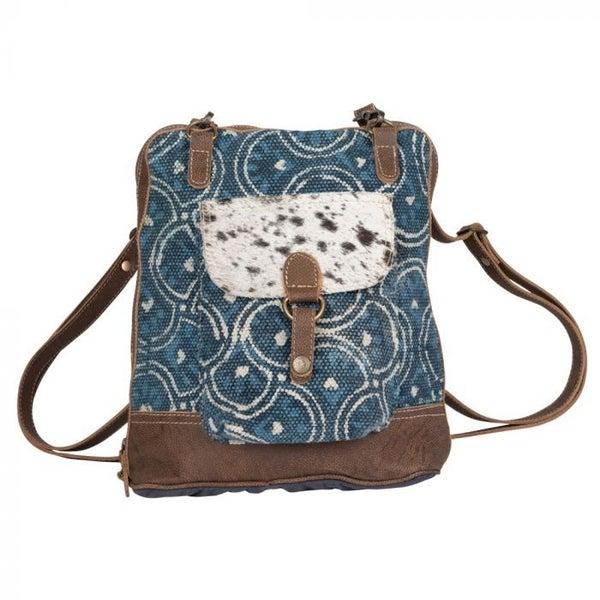 Myra Blue Aurora Backpack Bag