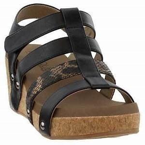 Corkys Lottie Wedge Sandals