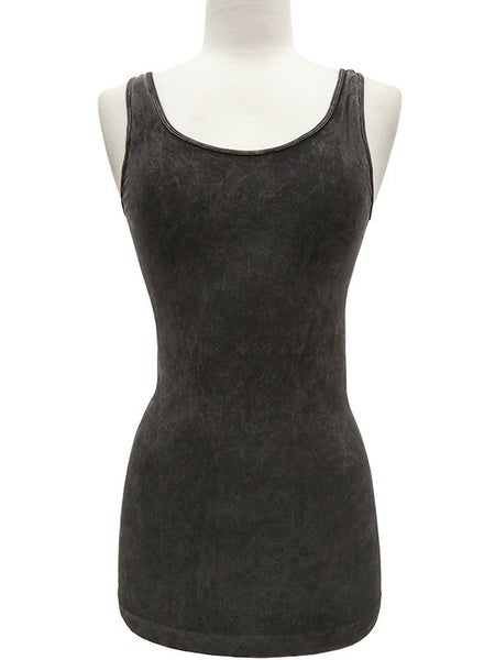 Modal Mineral Wash Seamless Wide Strap Tank