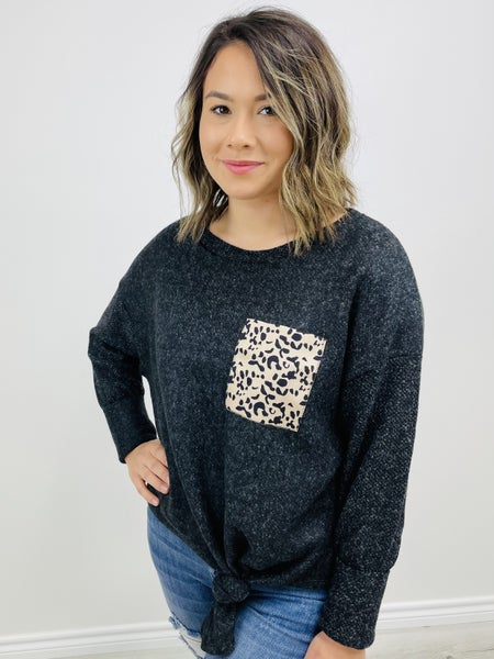 Long Sleeve Solid Knit