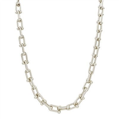 """Silver Chain 17"""" - 19"""" Necklace"""