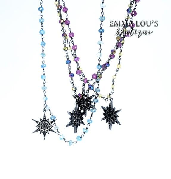 Melania Clara Star Necklace