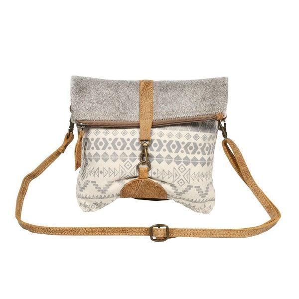 Myra Imbricate Small  Crossbody Bag