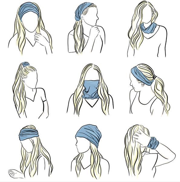 Headbands of Hope Tube Turban - ATL