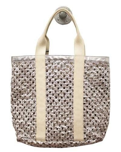 Latico Leather Brigitte Open Weave Bag