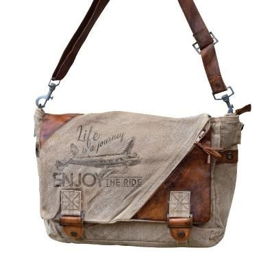 Enjoy the Ride Messenger Bag