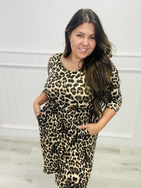 Sew In Love Cheetah Dress