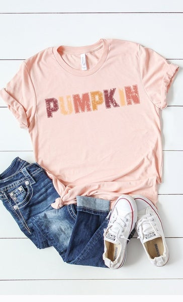 Pumpkin Graphic Tee INSTOCK