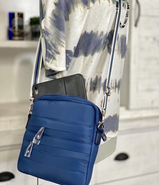 Crossbody Ipad Puffer Nylon Bag