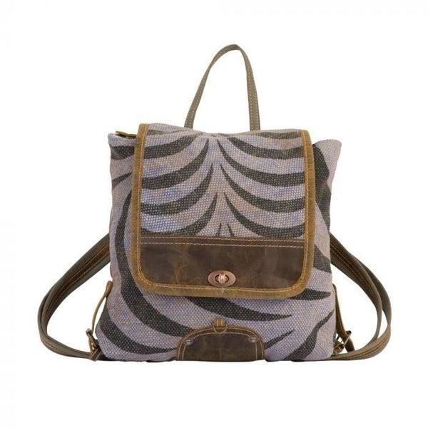 Myra Grey Tranquility Backpack Bag