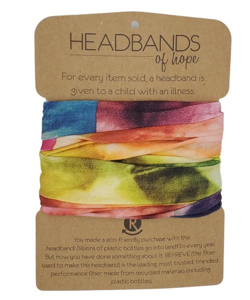 Headbands of Hope Recycled Tube Turban -ATL