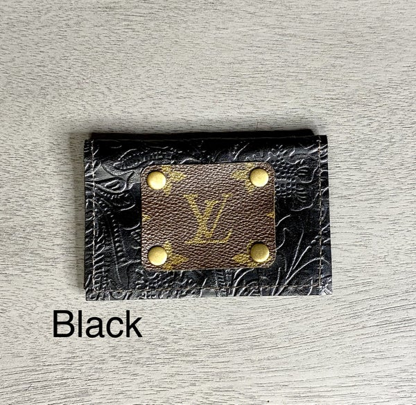 Leather LV Credit Card Holder