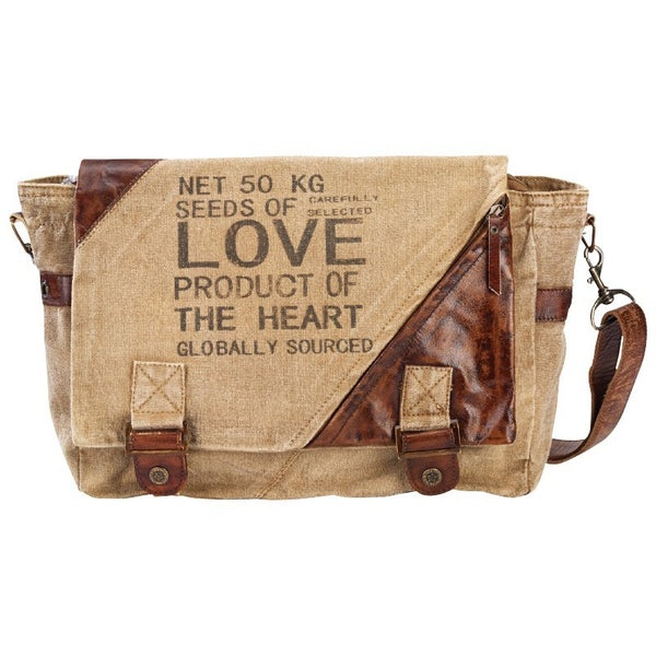Seeds of Love Messenger Bag