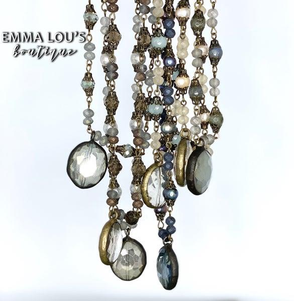 """Melania Clara """"Tracie"""" Vintage Short Necklace"""