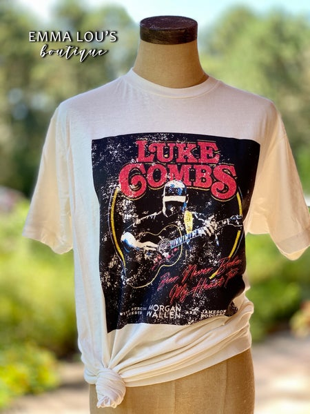 Luke Combs Vintage Graphic Tee