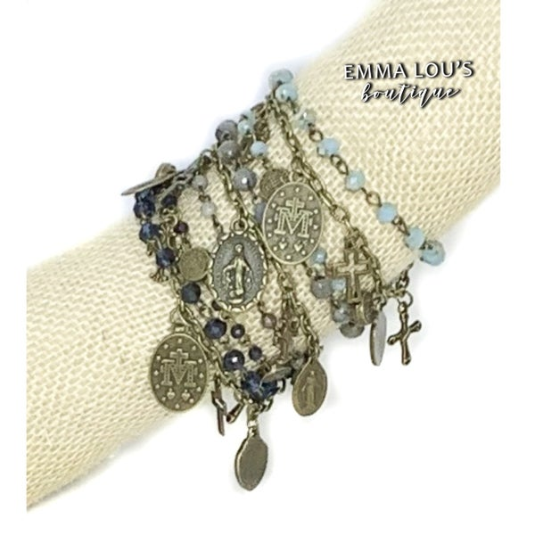 Melania Clara Blair Multi Strand Bracelet