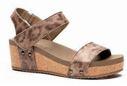 Corkys Slidell Wedge Sandals