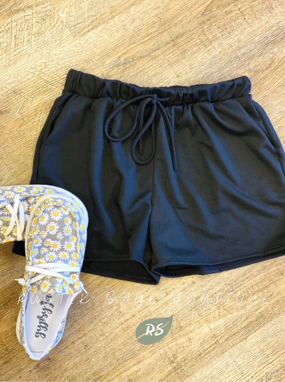 MA04 Black Everyday Shorts