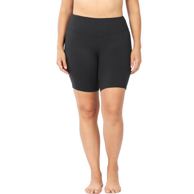 1139 Zenana Brushed Microfiber Shorts