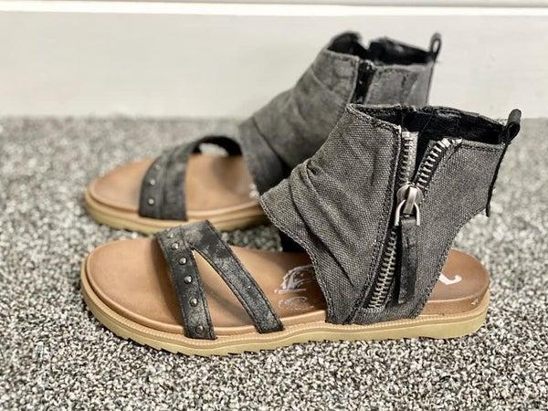 MA020 Very G Black Celeste Summer Sandals