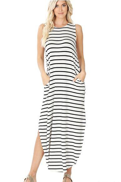 MA014 The Trista Maxi Dress