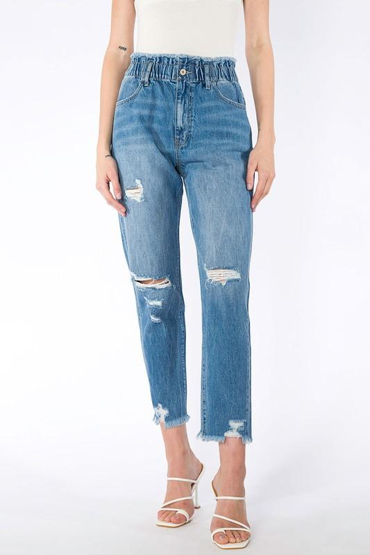 M110 Kan Can High Rise Mom Jeans