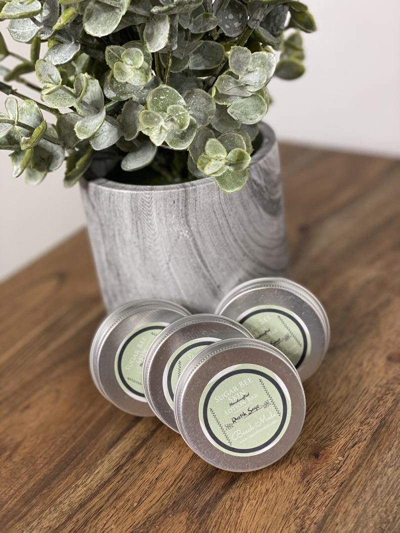 Rustik Sage Small Lotion Bar Sets