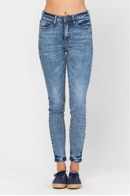 MA01 Judy Blue Acid Wash Jeans