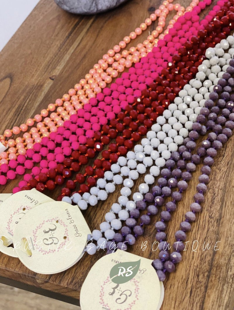 M78 Be You Long Bead Necklaces
