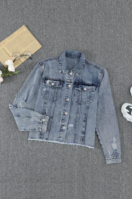 JA038 The Dreamy Denim Jacket
