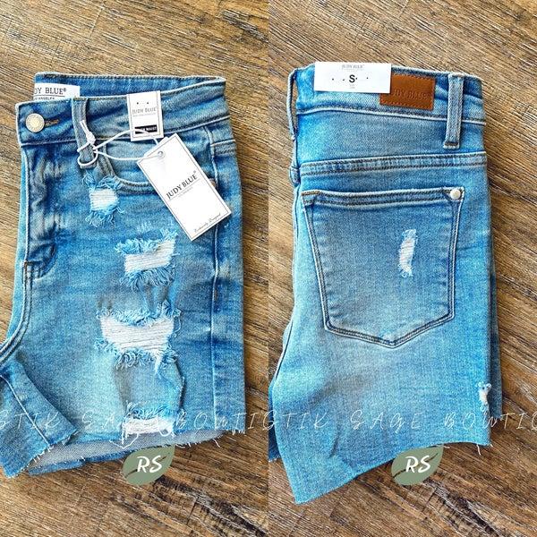 J45 Judy Blue Roxi Shorts
